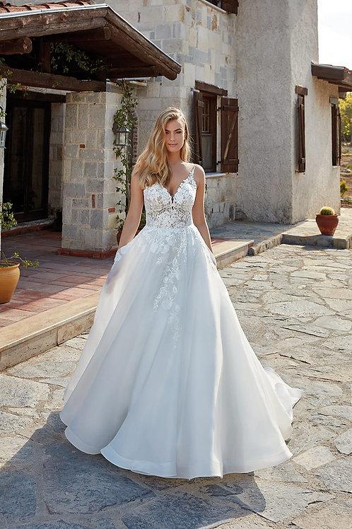 Hannah EK1377 Eddy K Ballgown Wedding Dress- To Order