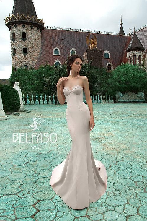 Leona Belfaso Fit & Flare Wedding Dress- To Order
