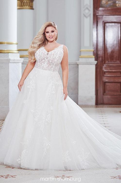 Cantara 120275 Martin Thornburg Ballgown Wedding Dress- In Stock