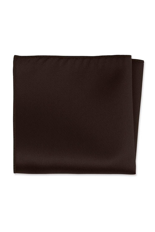 Solid Truffle Pocket Square