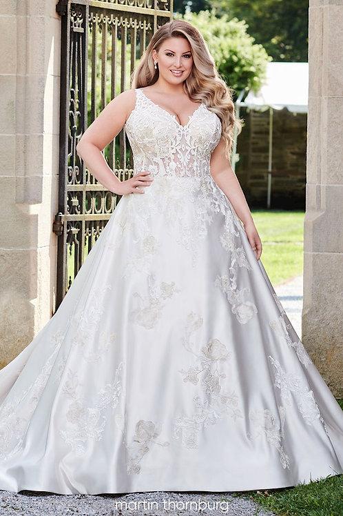 Candence 120244W Martin Thornburg Ballgown Wedding Dress- To Order