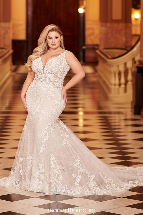 Alizia 220278W Martin Thornburg Mermaid Wedding Dress- To Order