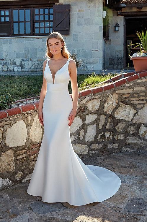 Emma EK1376 Eddy K Fit & Flare Wedding Dress- To Order