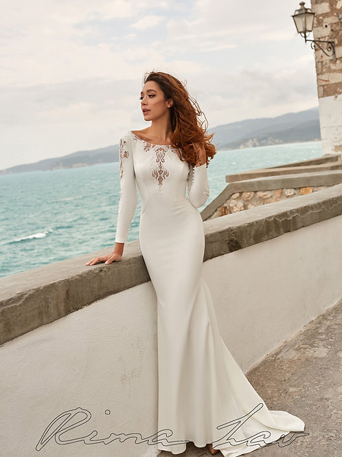 Zara Rima Lav Fit & Flare Wedding Dress- To Order