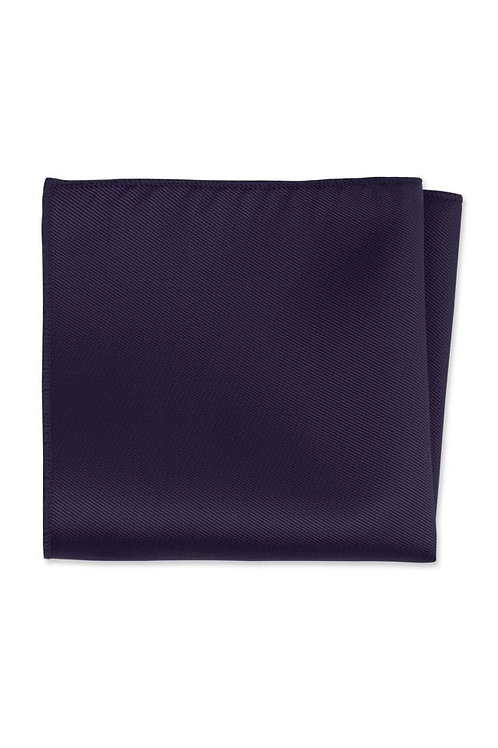 Solid Purple Rain Pocket Square