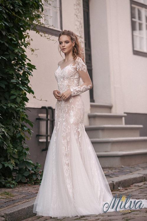Esmeralda Milva Trumpet Wedding Dress- To Order