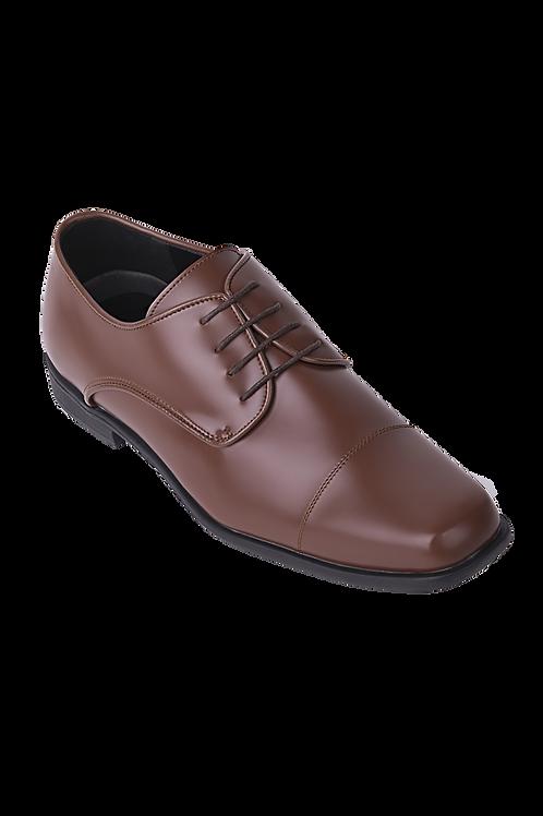 Cognac Brown Oxford Formal Shoe