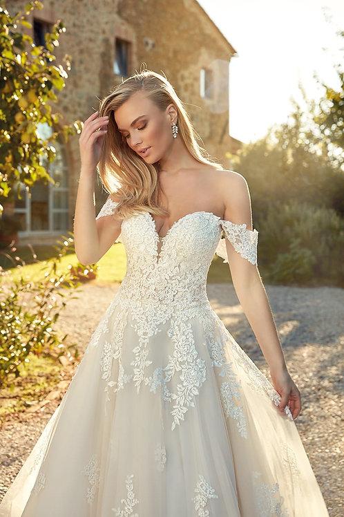 Rafaela EK1360 Eddy K Ballgown Wedding Dress- To Order