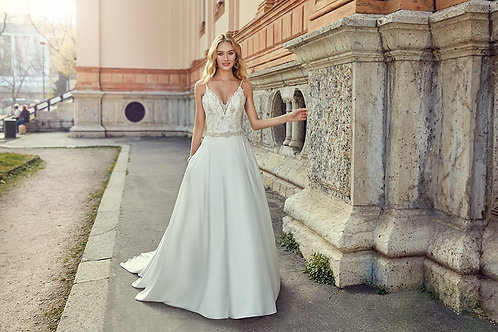 MD251EK EddyK A-line Wedding Dress- In Stock