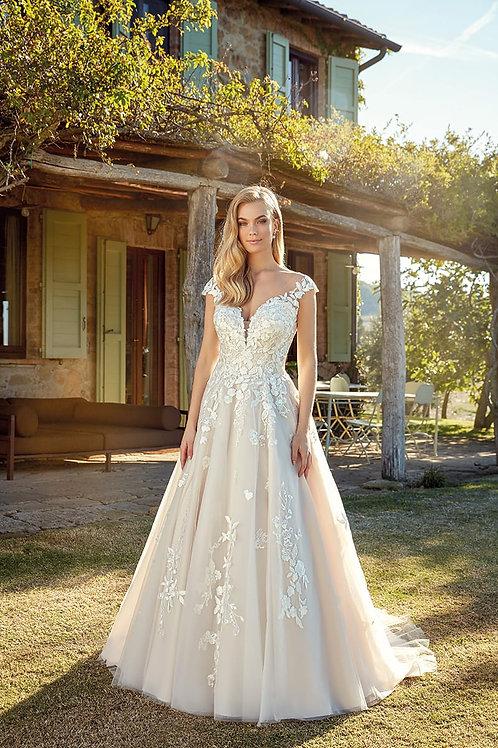 Briana EK1336 Eddy K A-Line Wedding Dress- To Order