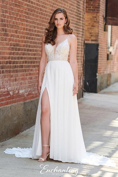 120170 Enchanting A-line Wedding Dress- To Order