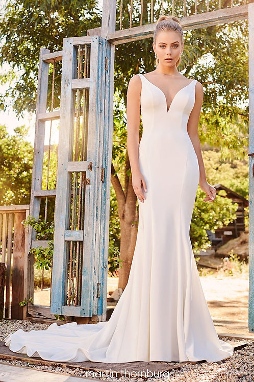 Hope 120249 Martin Thornburg Fit & Flare Wedding Dress- To Order
