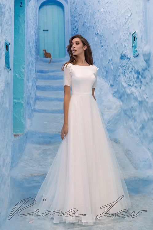 Margery Rima Lav A-Line Wedding Dress- To Order