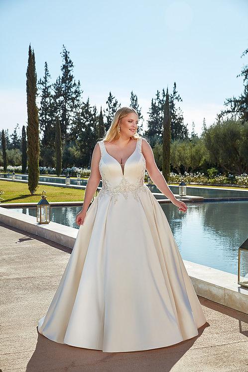 UR133 Eddy K Ballgown Wedding Dress- To Order