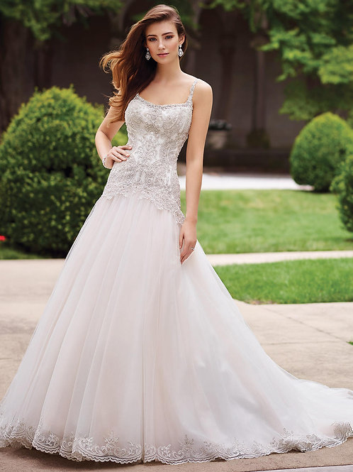 Carmelina 117279 Martin Thornburg Ballgown Wedding Dress- In Stock