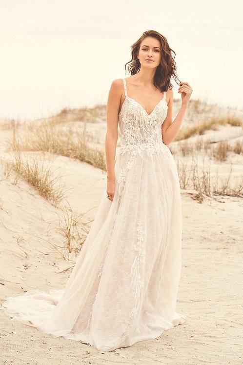 66113 Lillian West A-Line Wedding Dress- To Order