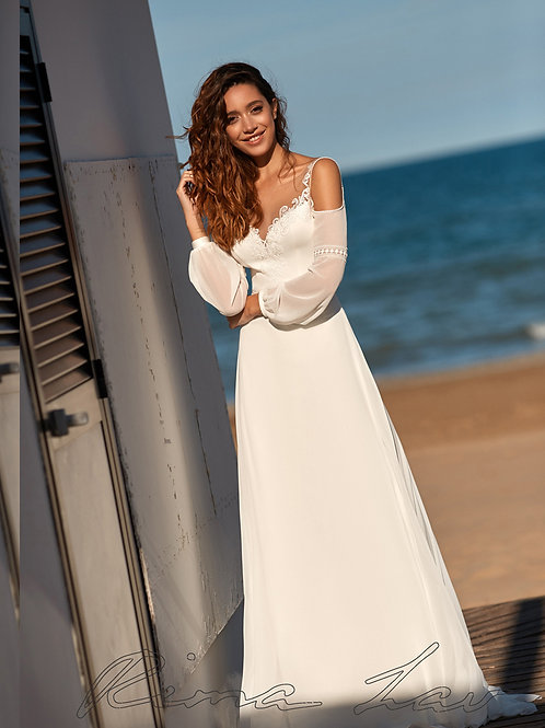 Arsenia Rima Lav Sheath Wedding Dress- To Order