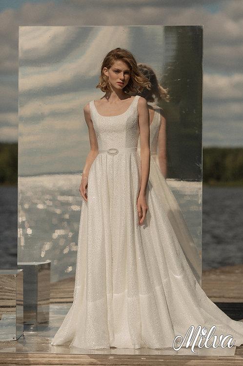Ellory Milva A-Line Wedding Dress- To Order