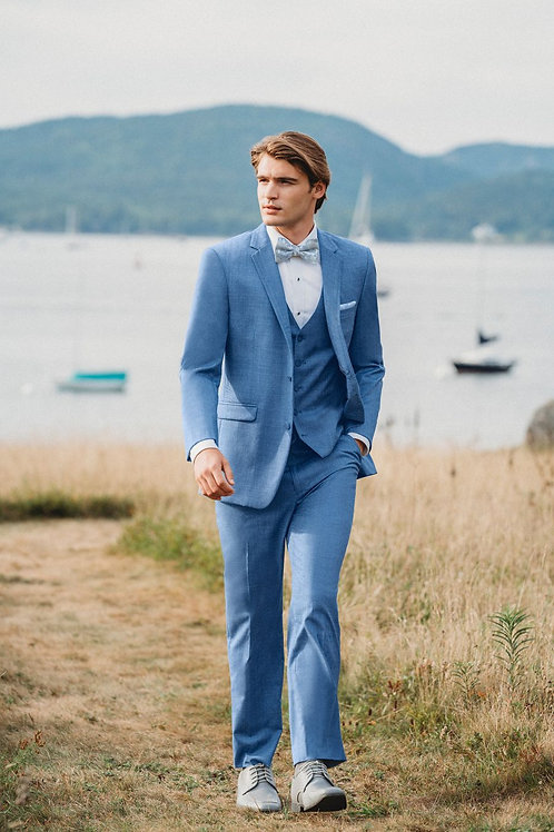 Allure Men Cornflower Blue Brunswick Tuxedo