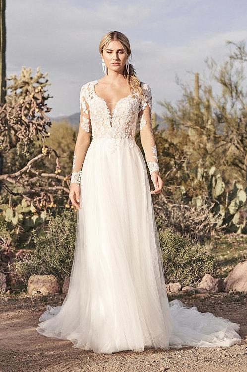 66157 Lillian West A-Line Wedding Dress- To Order