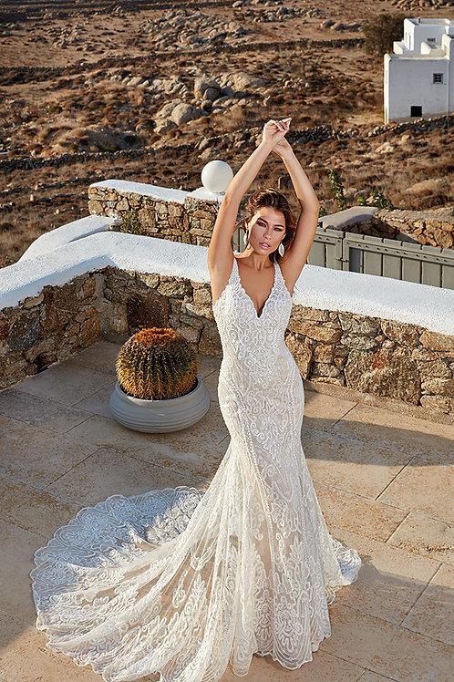 Galia EddyK Fit & Flare Wedding Dress- In Stock