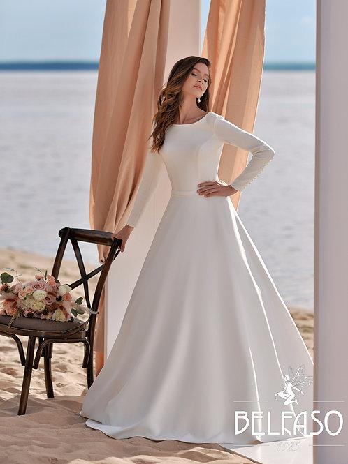 Megan Belfaso Ballgown Wedding Dress- To Order