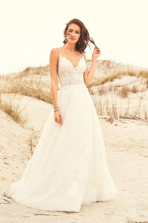 66098 Lillian West A-Line Wedding Dress- To Order