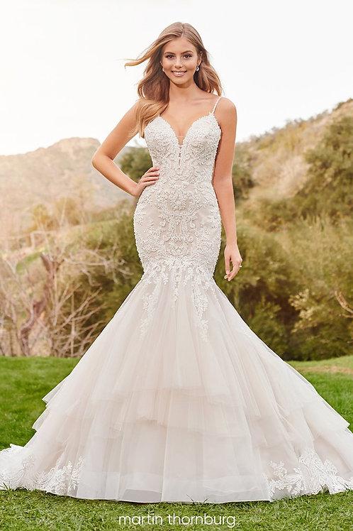 Terra 220265 Martin Thornburg Trumpet Wedding Dress- To Order
