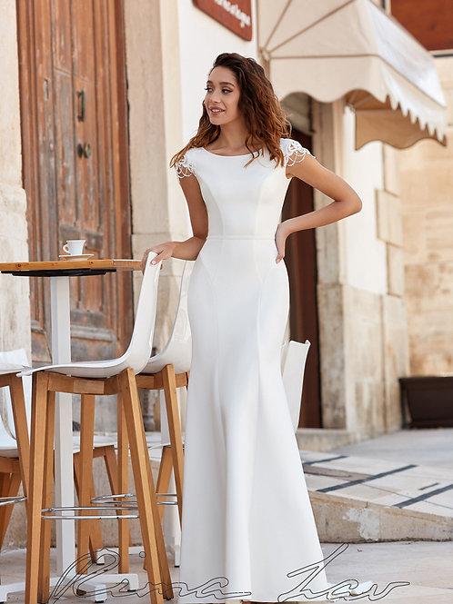 Perry Rima Lav Sheath Wedding Dress- To Order