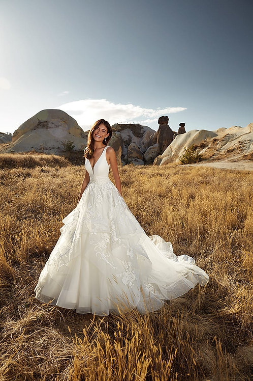 Athena DR2016 Eddy K Ballgown Wedding Dress- To Order