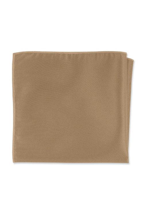 Herringbone Gold Pocket Square
