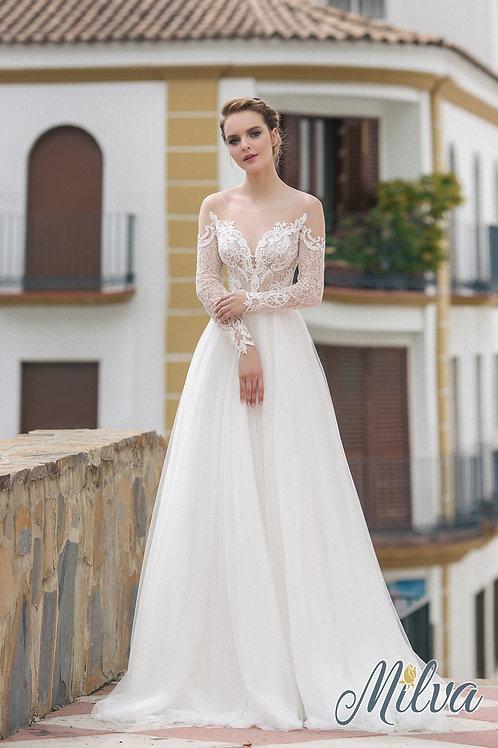 Priscilla Milva A-Line Wedding Dress- To Order