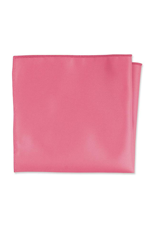 Expressions Bright Pink Pocket Square