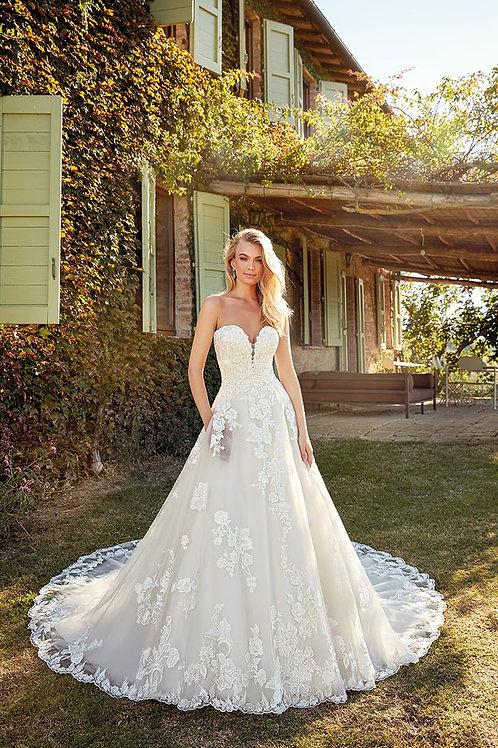 Eden EK1340 Eddy K A-Line Wedding Dress- To Order