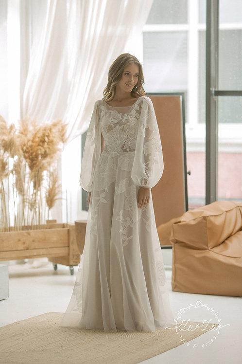Marta Zuzu SheathWedding Dress- To Order