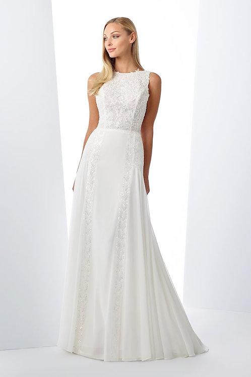 119110 Enchanting A-line Wedding Dress- To Order