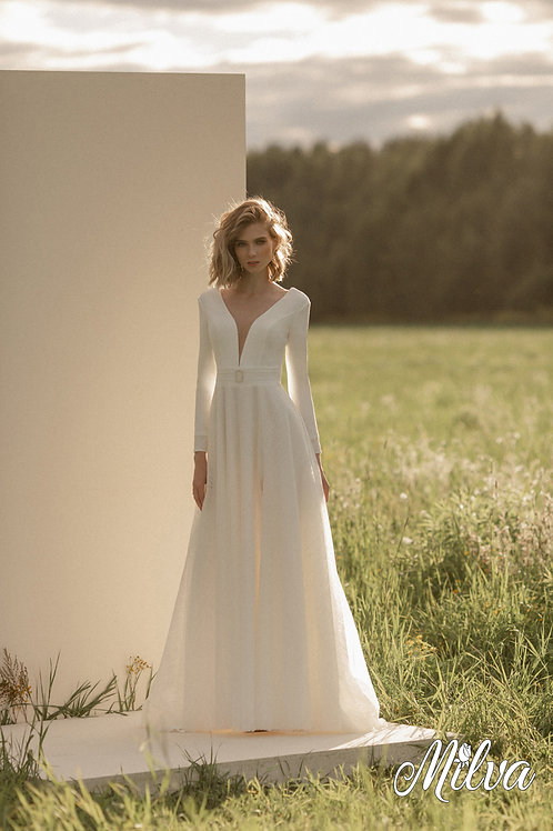 Nova Milva A-Line Wedding Dress- To Order