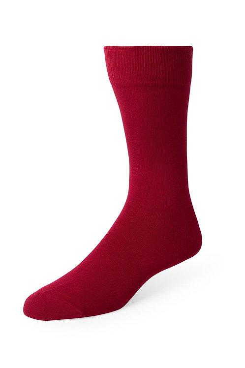 Apple Red Formal Socks- For Purchase