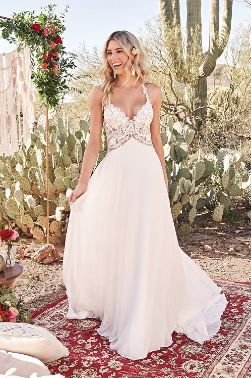 66035 Lillian West A-Line Wedding Dress- To Order