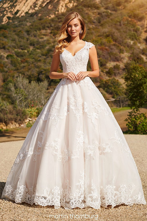 Davenport 220279 Martin Thornburg Ballgown Wedding Dress- To Order