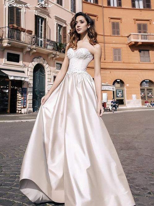 Enya Rima Lav A-Line Wedding Dress- To Order