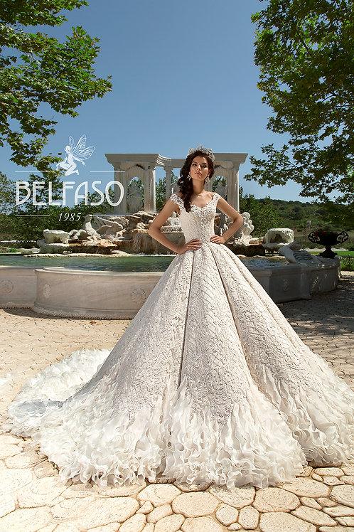Eliza Belfaso Ballgown Wedding Dress- To Order