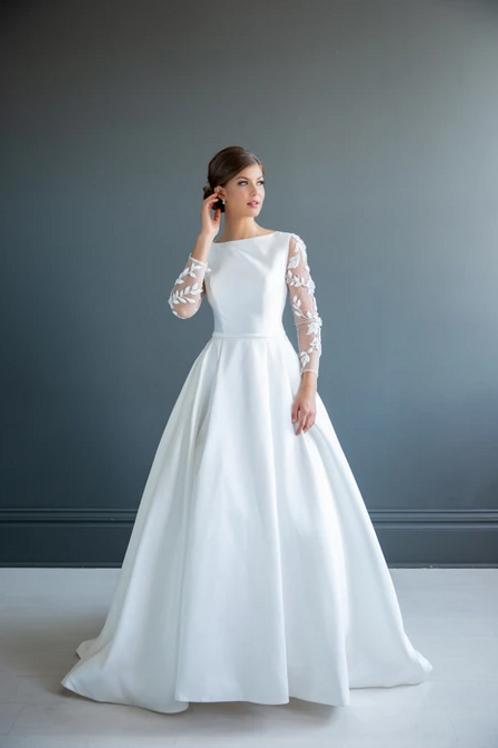 Evelyn MC7213 MBC by Barbie Ballgown Wedding Dress- To Order