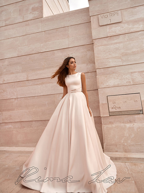 Dolly Rima Lav A-Line Wedding Dress- To Order