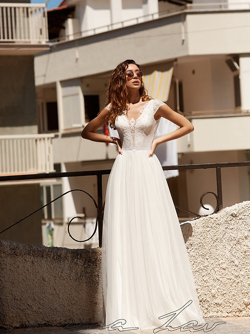Jill Rima Lav Sheath Wedding Dress- To Order