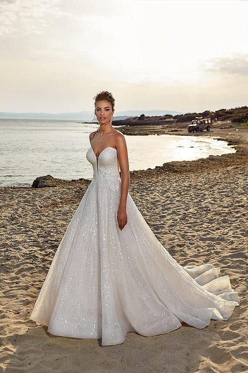 Lena  Eddy K Ballgown Wedding Dress- In Stock