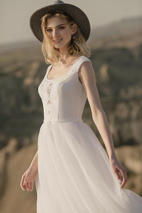 Tilda Milva Short A-Line Wedding Dress- To Order