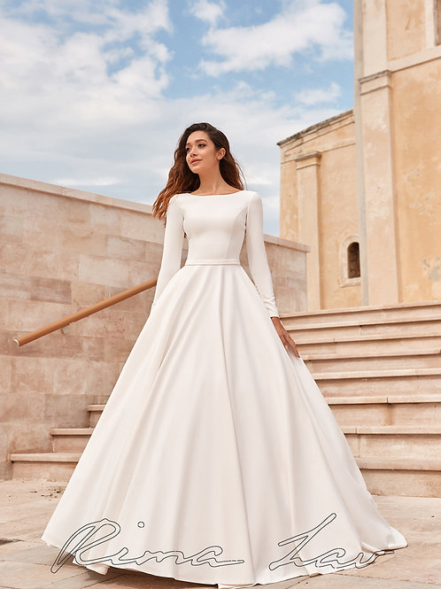 Kelly Rima Lav A-Line Wedding Dress- To Order