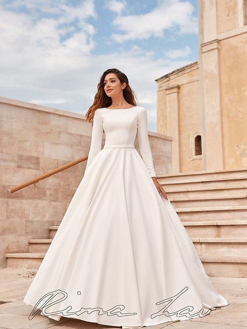 Kelly Rima Lav A-Line Wedding Dress- In Stock