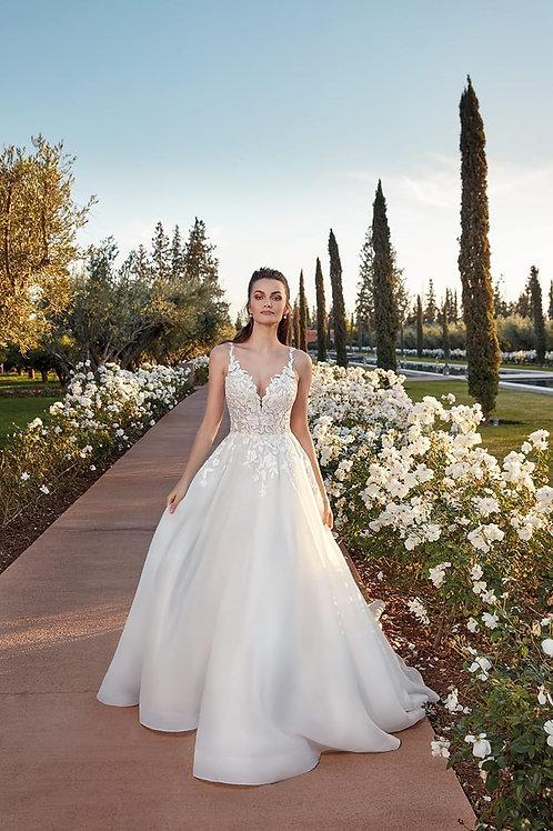 EK1321 EddyK A-line Wedding Dress- In Stock